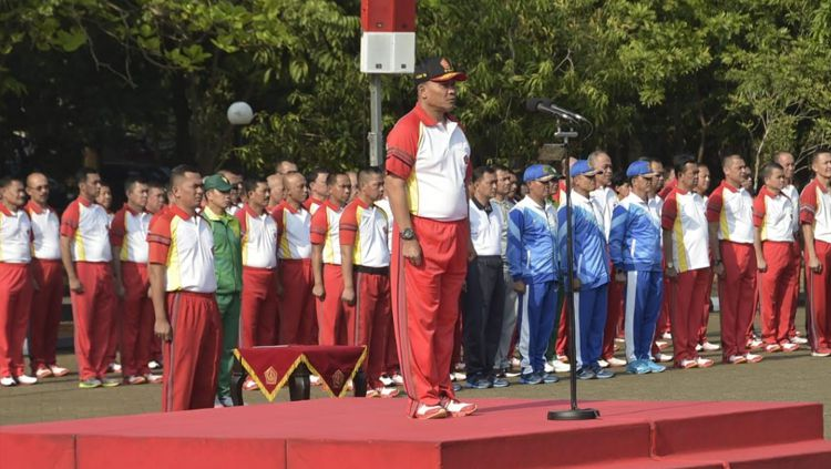 Pidato dalam pembukaan Piala Panglima TNI Copyright: © Badarudin Puspen TNI