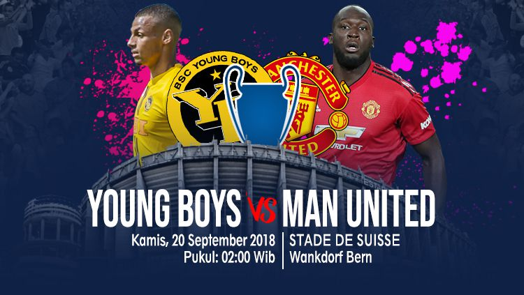 Young Boys vs Manchester United. Copyright: © INDOSPORT