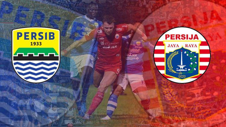 Persib Bandung vs Persija Jakarta. Copyright: © INDOSPORT