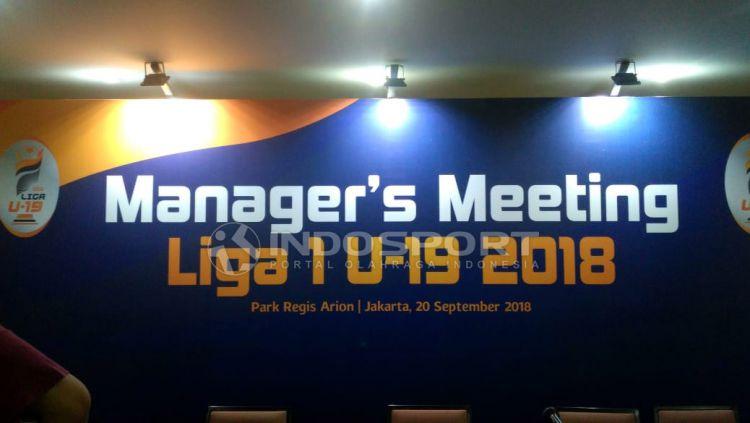 Liga 1 U-19 2018. Copyright: © Petrus Manus Da'Yerimon/Indosport.com