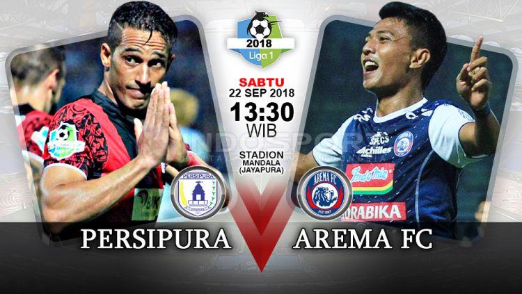 Link Pertandingan Liga 1 2018: Persipura vs Arema FC ...