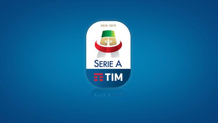 Logo Serie A Italia. Copyright: © INDOSPORT