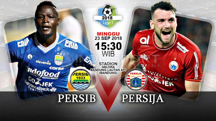 Persib Bandung vs Persija Jakarta (Prediksi) Copyright: © Indosport.com