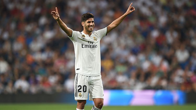 Marco Asensio, gelandang serang Real Madrid. Copyright: © Getty Images