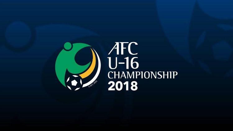 Logo Piala Asia U-16 2018 Copyright: © AFC