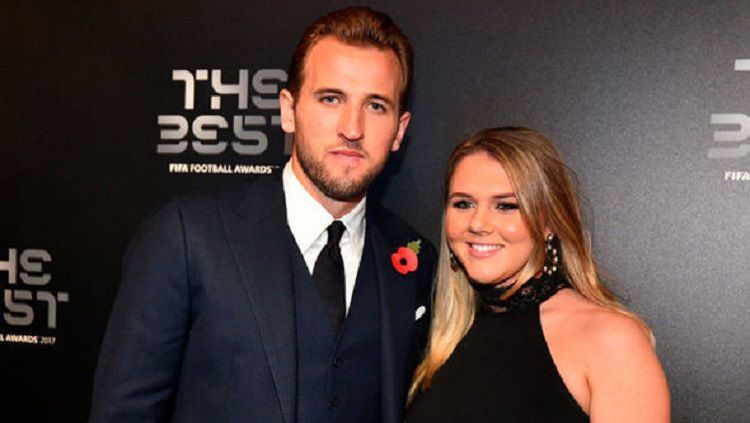 Harry Kane dan Katie Goodland Copyright: © Metro.co.uk