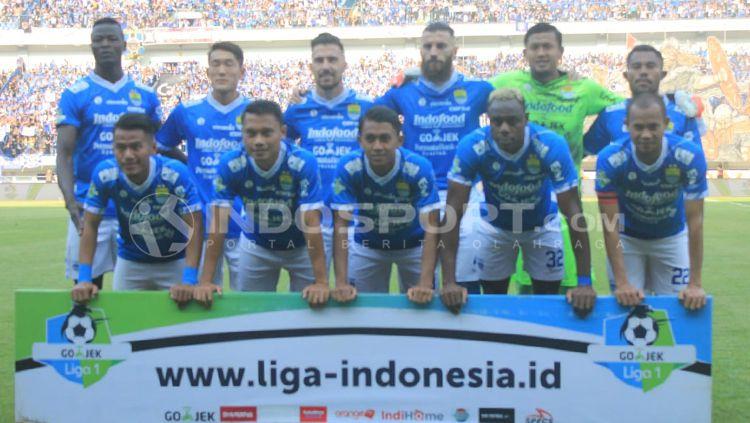 Pemain Persib Bandung Copyright: © Arif Rahman/INDOSPORT