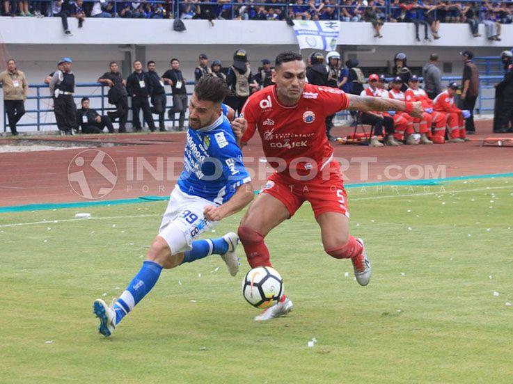 Hasil Pertandingan Liga 1 2018 Persib vs Persija: Kokoh di Puncak