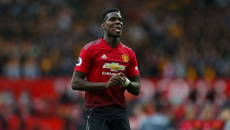 Paul Pogba, gelandang serang Man United. Copyright: © Getty Images