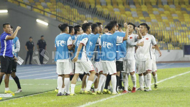 Timnas U-16 Indonesia vs Vietnam Copyright: © Abdurrahman Ranala/INDOSPORT