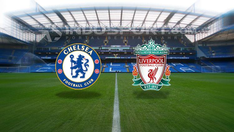 Chelsea vs Liverpool. Copyright: © INDOSPORT