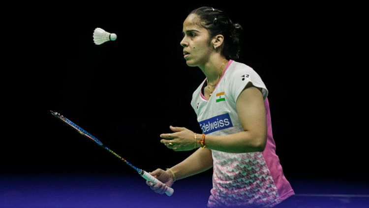 Pebulutangkis asal India, Saina Nehwal. Copyright: © Getty Images