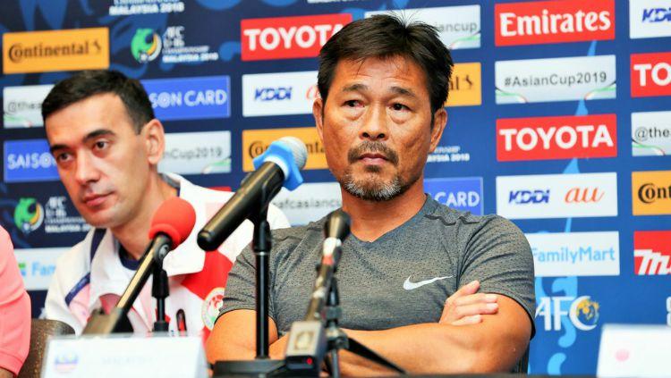 Pelatih Malaysia U-16, Lim Teong Kim. Copyright: © Goal