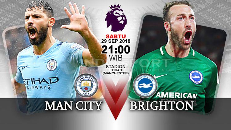 Prediksi Premier League Manchester City Vs Brighton Indosport
