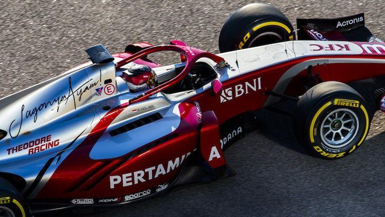 Sean Gelael di Formula 2 GP Rusia 2018. Copyright: © Twitter/@PREMA_Team
