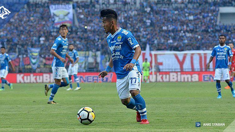 Ghozali Siregar penyerang Persib Bandung. Copyright: © simamaung.com