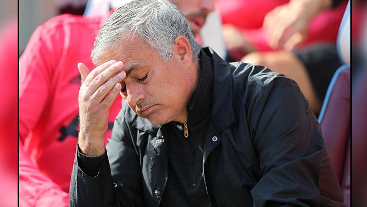 Petenis profesional Andy Murray pernah membuat Jose Mourinho, mantan pelatih Man United menangis. Copyright: © Getty Images
