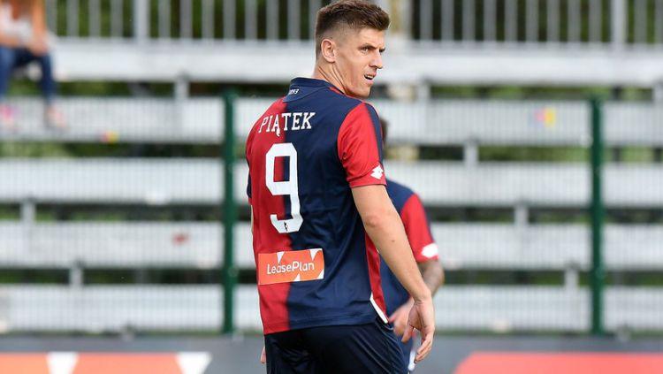 Krzysztof Piatek pemain Genoa. Copyright: © Getty Images
