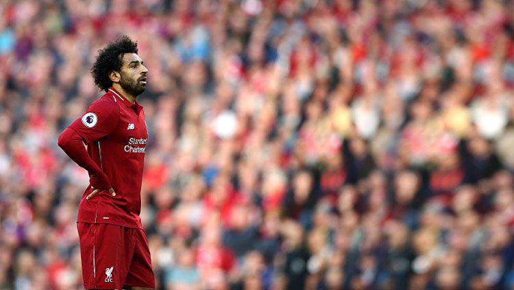 Striker Liverpool, Mohamed Salah. Copyright: © Getty Images