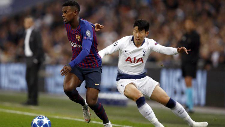 Tottenham Hotspur vs Barcelona. Copyright: © Getty Images