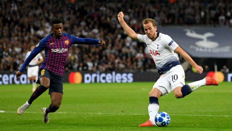 Tottenham Hotspur vs Barcelona Copyright: © Getty Images