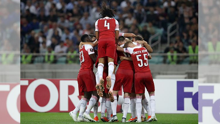 Qarabag vs Arsenal Copyright: © Getty Images