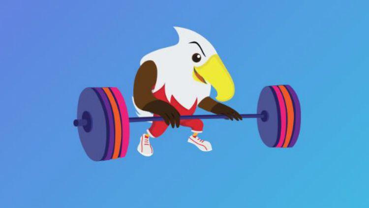 Angkat besi Asian Para Games 2018. Copyright: © Asian Para Games 2018