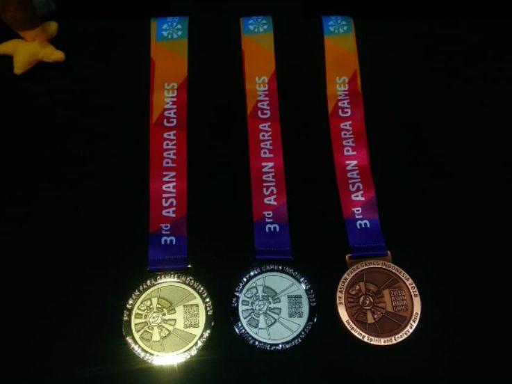 Update Klasemen Perolehan Medali Asian Para Games 2018, Rabu 10 Oktober 2018