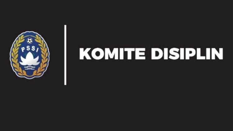 Logo Komite Disiplin Persatuan Sepak Bola Seluruh Indonesia (Komdis PSSI). Copyright: © pssi.org
