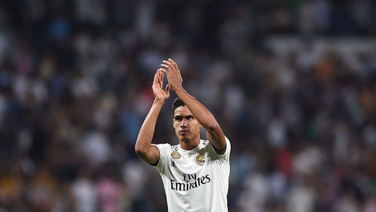Raphael Varane, bek tengah Real Madrid. Copyright: © Getty Images