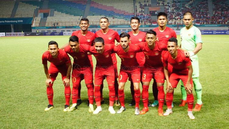 Indonesia vs Myanmar Copyright: © Herry Ibrahim/Indosport.com
