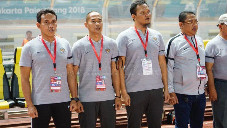 Indonesia vs Myanmar Copyright: © Herry Ibrahim/Indosport.com