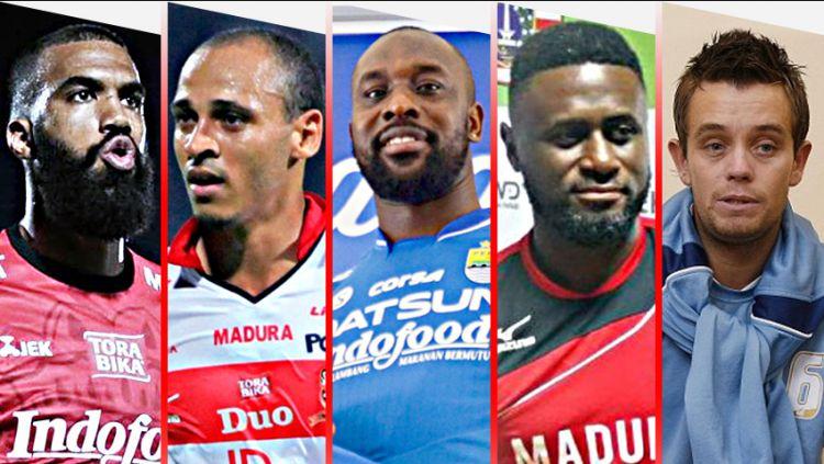5 Bintang Asing yang Kapok dengan Sepak Bola Indonesia. Copyright: © Indosport.com