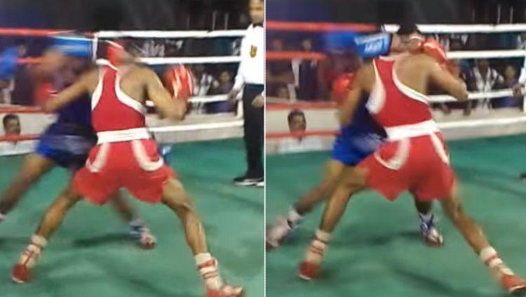 Dua petinju India mendapatkan KO secara bersamaan Copyright: © sportbible