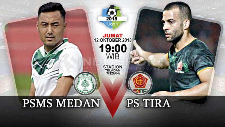PSMS Medan vs PS Tira (Prediksi). Copyright: © Indosport.com