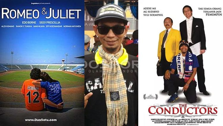 Poster film Romeo dan Juliet, The Conductors dan Yuli Sumpil. Copyright: © Istimewa