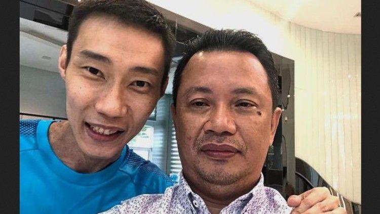 Menyebut bakal segera jadi negara adidaya dan setara dengan Indonesia, Presiden Asosiasi Bulutangkis Malaysia (BAM), Norza Zakaria jadi sorotan media asing. Copyright: © Instagram @norzazakaria