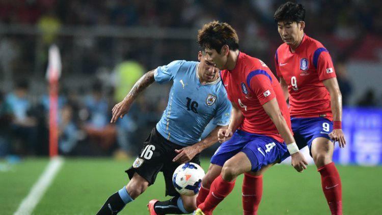 Korea Selatan Tumbangkan Uruguay di Laga Persahabatan. Copyright: © imageservera