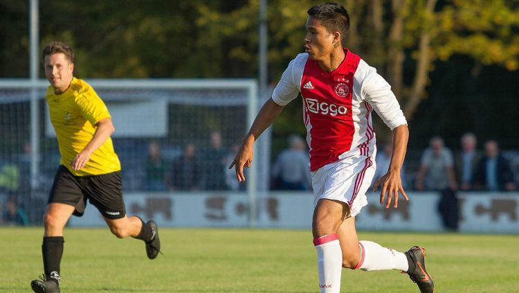 Nathan Muskitta, pemain muda Indonesia di Ajax Amsterdam. Copyright: © Instagram/Nathan Muskitta