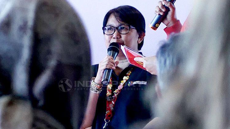McDonald's berikan apresiasi terhadap atlet para renang Indonesia di Asian Para Games 2018, Rabu (17/10/18) di salah satu gerai McDonald's Sarinah, Jakarta. Copyright: © Ridi F Khan/INDOSPORT