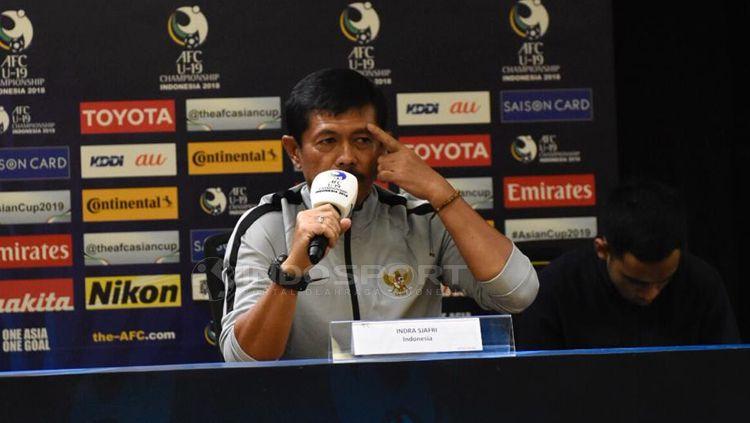 Indra Sjafri, pelatih Timnas Indonesia U-19. Copyright: © Herry Ibrahim/INDOSPORT