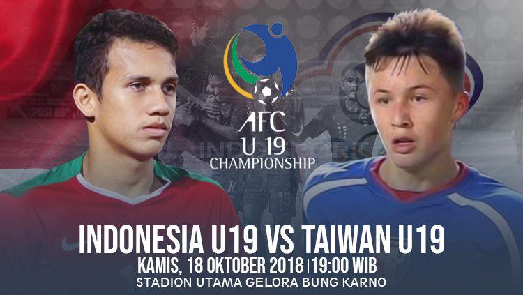 Timnas Indonesia U-19 vs Chinese Taipei U-19 Copyright: © INDOSPORT