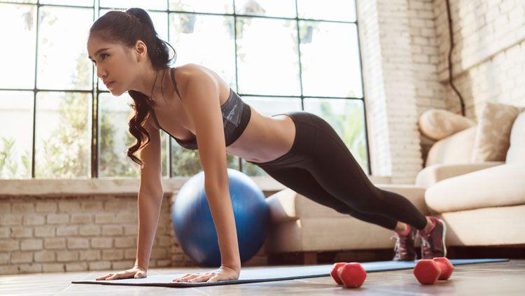 Jaga kebugaran tubuh dengan rutin berolahraga. Copyright: © INTERNET