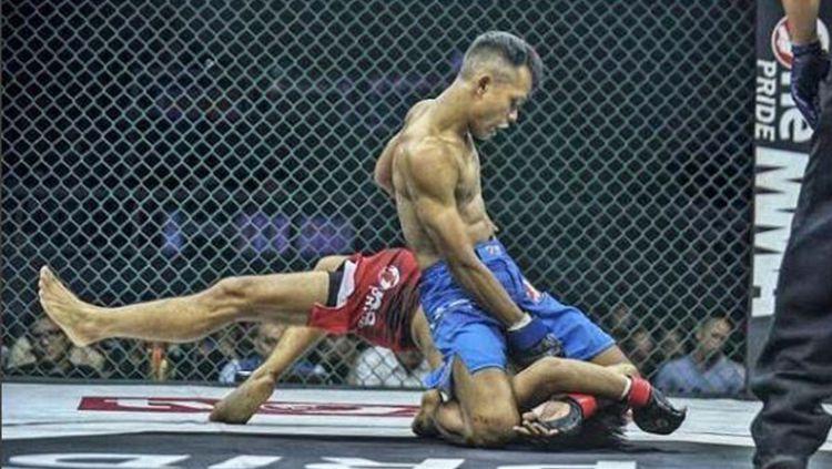Petarung MMA, Andi Paryanto Copyright: © instagram/thezenwalk