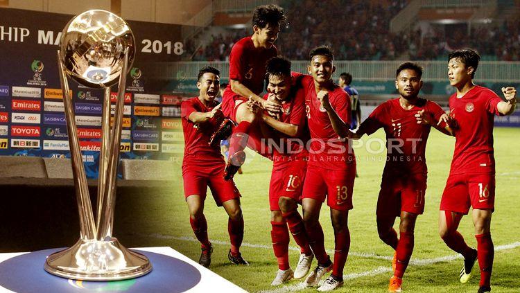Timnas Indonesia U19 dan Piala Asia U19 2018 Copyright: © INDOSPORT