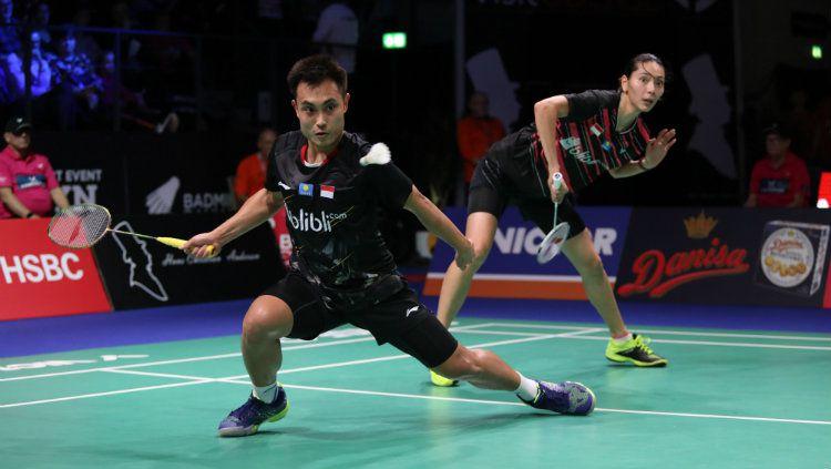 Rekap hasil pertandingan wakil Indonesia di babak pertama Hong Kong Open 2019 pada Selasa (12/11/19) diHong Kong Coliseum, Hong Kong. Copyright: © PBSI