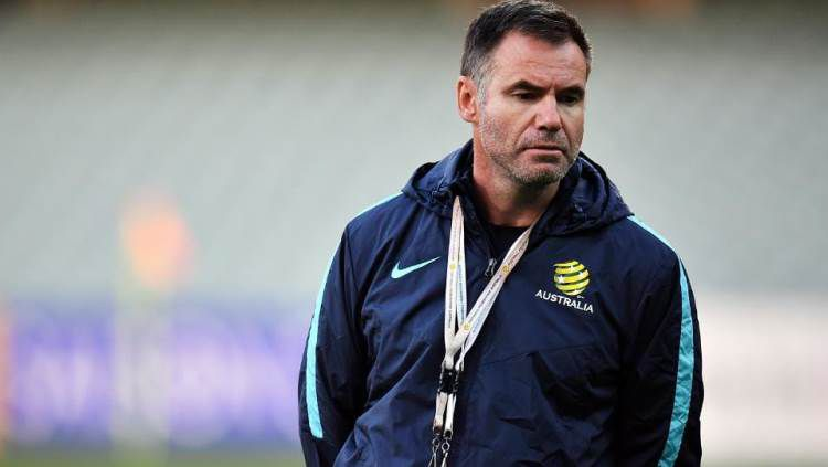 Pelatih Timnas Australia U-19, Ante Milicic. Copyright: © Herald Sun