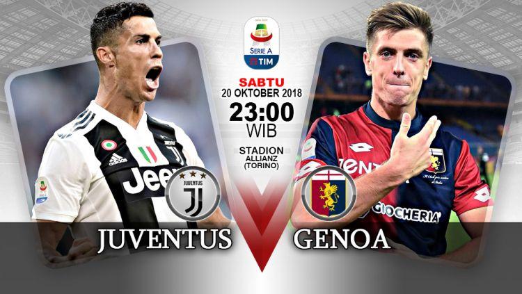Juventus vs Genoa (Prediksi) Copyright: © Indosport.com