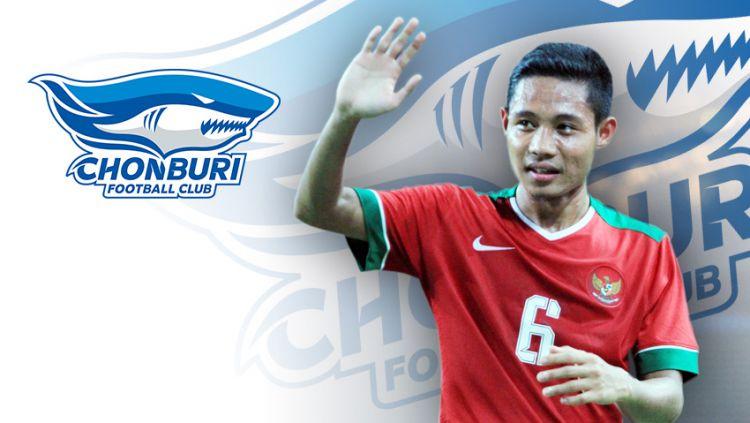 Chonburi FC Tertarik Boyong Evan Dimas. Copyright: © Indosport.com