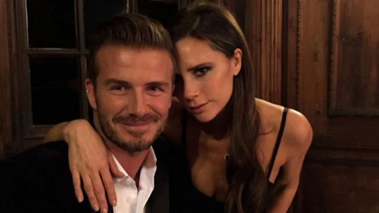 David Beckham dan Victoria yang telah menikah selama 19 tahun. Copyright: © ET Online